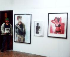 "Exposición realizada en ""La Casa Itinerante"" - Bogotá. Nov. 2013. Dibujos Mario Tachack.  http://mario-tachack.tumblr.com/"