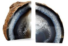 Agate Bookends| One Kings Lane