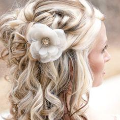 Flower Hair Accessories   Flower Hair Accessories