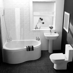 Petite baignoire d'angle et solutions pour petits espaces