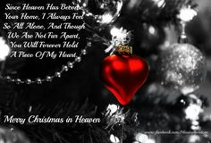 Merry Christmas in Heaven Merry Christmas Sister, Merry Christmas In Heaven, Merry Christmas Quotes, Mom In Heaven Quotes, Sister In Heaven, I Miss My Mom, Love My Husband, Prayer Poems, Grief Poems