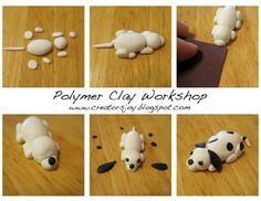 DIY Polymer Clay Puppy Tutorial