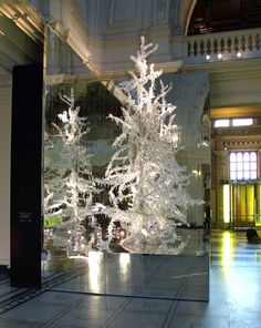 Christmas Tree installation by Alexander McQueen and Tord Boontje - Victoria and Albert Museum