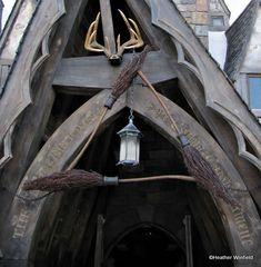 Three Broomsticks