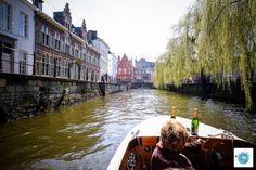 La Lys  Canaux Gand belgique Flandres Love Live Travel Blog Voyage