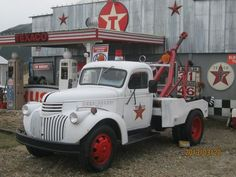 ◆1946 Chevy 1.5 Ton Tow Truck◆www.TravisBarlow.com Insurance for towing for over 30 years
