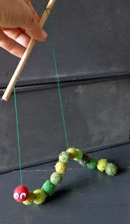 Caterpillar puppet - Caterpillar puppet --- #Theaterkompass #Theater #Theatre…