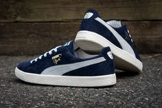 """The Puma Clyde """"Home And Away"""" Pack is Premium Built in Italy - EU Kicks: Sneaker Magazine Sneaker Magazine, Puma Suede, Pumas, Home And Away, Classic Looks, Style Me, Kicks, Italy, Sneakers"""