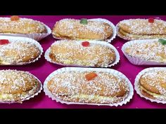 ✔️😋PASTELES RÁPIDOS DE CREMA Y COCO SIN HORNO //BEATRIZ COCINA. - YouTube Homemade Rolls, Pan Dulce, Churros, Flan, Cooking Time, Biscuits, Cheesecake, Muffin, Breakfast