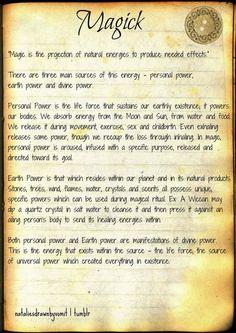 Book of Shadows: Magick