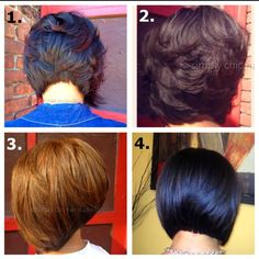 I really like the look of #2-wonder if I could do this w/my hair now?
