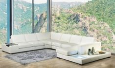 Luxury italian sectional upholstery Black Sectional, Corner Sectional Sofa, Modern Sectional, Couch, Clean Living Rooms, Living Room Sets, Bedroom Sets, George House, White Sofas