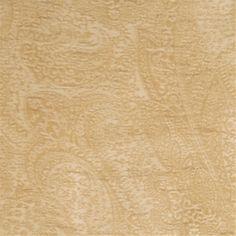 Upholstery Fabrics - Paisley - Cashew Paisley Fabric by Trend