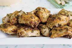Mustard, lemon and rosemary roast chicken main image