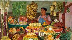 """""""La vendedora de Frutas"""" Olga Costa: Apuntes de la naturaleza 1913-2013"""
