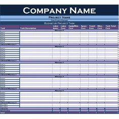 business project planning forms
