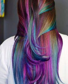 30 Mesmerizing Mermaid Hair Color Ideas Real Life Fantasy