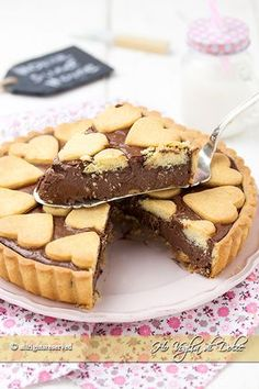Nutella tart which remains creamy recipe Sweet Recipes, Real Food Recipes, Pie Recipes, Jam Tarts, Nutella Cake, Cooking Cake, Cake & Co, Sweets Cake, Sweet Tarts