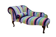 Relaxing on a Chaise Lounge... funky stripes...