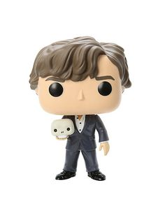 Funko Sherlock Pop! Television Sherlock With Skull Vinyl Figure Hot Topic Exclusive | Hot Topic