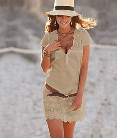 sun hats and dresses
