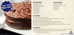 Do you LIKE Milo? Do you LIKE chocolate cake? Then you'll LOVE this #recipe! #baking Milo Cake, Cocoa Cake, I Love Chocolate, Chocolate Cake, Icing Ingredients, Homemade Cakes, Dessert Recipes, Desserts, No Bake Cake