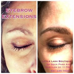 Eyebrow extensions on pinterest eyebrow extensions for Cheap tattoos nyc