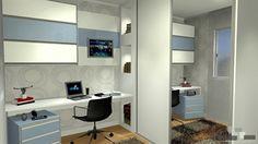 dormitorio office dormitorio apoio  - Galeria de Projetos Promob