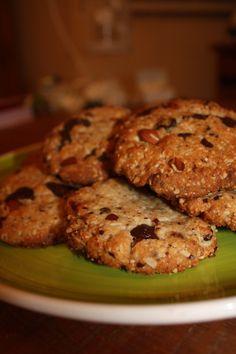 Simply irresistible… …Dark chocolate & almond gluten free cookies #glutefree #dairyfree #soyafree