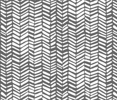 Impression (gray ground) fabric by leanne on Spoonflower - custom fabric