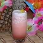 Pink Panther - amaretto, vodka, pineapple juice, grenadine