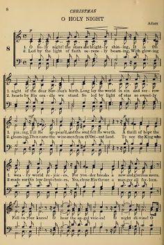 Christmas Sheet Music, Noel Christmas, Xmas, Vintage Christmas, Vintage Sheet Music, Vintage Sheets, Old Sheet Music, Sheet Music Crafts, Church Songs