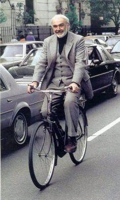 Sean Connery ... Silver Fox