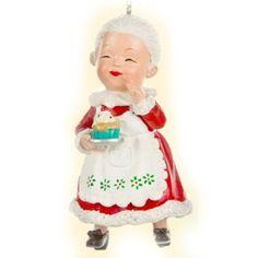 Mrs. Claus Ornament http://shop.crackerbarrel.com/Mrs-Claus-Ornament/dp/B0099SDPQA