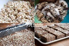Kuchařka ze Svatojánu: POHANKOVÉ KOSTKY S DATLEMI Quinoa, Cereal, Protein, Low Carb, Cookies, Breakfast, Health, Sweet, Desserts