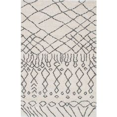 Shop for Alaskan Oriental Ivory Shag Rug (8' x 10'). Get free shipping at…