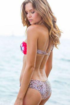 Josephine Skriver in Sauvage Swimwear 2016 Josephine Skriver, Sauvage Swimwear, Bikini Swimwear, Bikini Luxe, Bikini Set, Sports Illustrated, Summer Bikinis, Models, The Beach