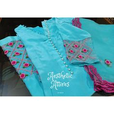 Designer Punjabi Suits Patiala, Punjabi Suits Designer Boutique, Boutique Suits, Indian Designer Suits, Embroidery Suits Punjabi, Hand Embroidery Dress, Kurti Embroidery Design, Embroidery Fashion, Punjabi Suits Party Wear