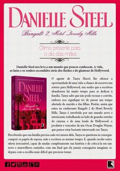 "Saleta de Leitura: Grupo Editorial Record lança ""Bangalô 2, Hotel Beverly Hills"" de Danielle Steel"