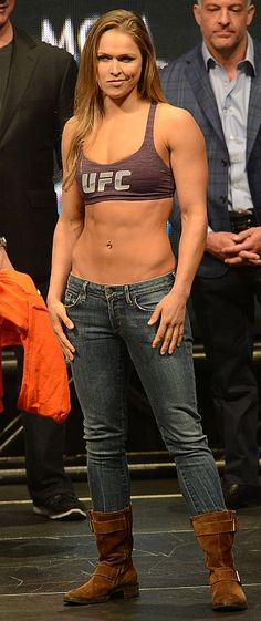 Female MMA - Ronda Rousey