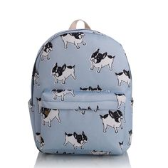 4 Size Bull Terriers And Paw Printed Business Luggage Protector Travel Baggage Suitcase Cover