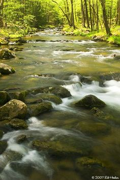 Penns Creek, Poe Paddy State Park, Pennsylvania; photo by .Ed Heaton