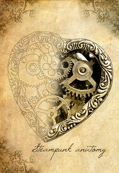 Steampunk heart by LindholmDesigns