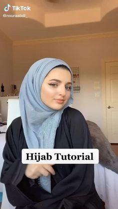Hijab Turban Style, Mode Turban, Hijab Style Dress, Turban Outfit, Simple Hijab Tutorial, Hijab Style Tutorial, Pashmina Hijab Tutorial, How To Wear Hijab, Beautiful Hijab Girl