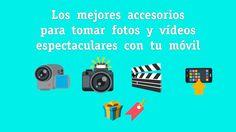 Listado de todos los mejores accesorios para grabar vídeos con el móvil. En el post describo los mejores gadgets para grabar vídeos con el móvil. 📹📽📖