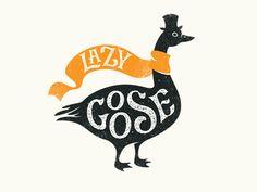 logobaker.ru | логотип | Lazy Goose