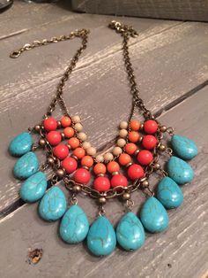 Sunset Necklace by Premier Designs Jewelry Dianefarris.mypremierdesigns.com