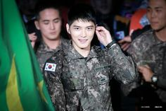 Kim Jaejoong  2016 army