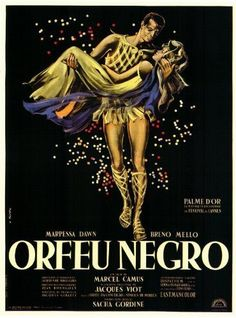 Black Orpheus (1959)~Play a song for me, please. Come on.