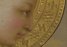 Fra Angelico, Annunciation (detail), c. 1426